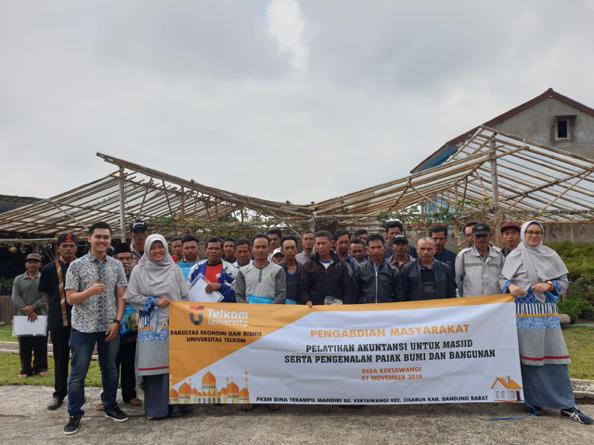 Pelatihan Akuntansi Untuk Masjid Serta Pengenalan Pajak Bumi dan Bangunan